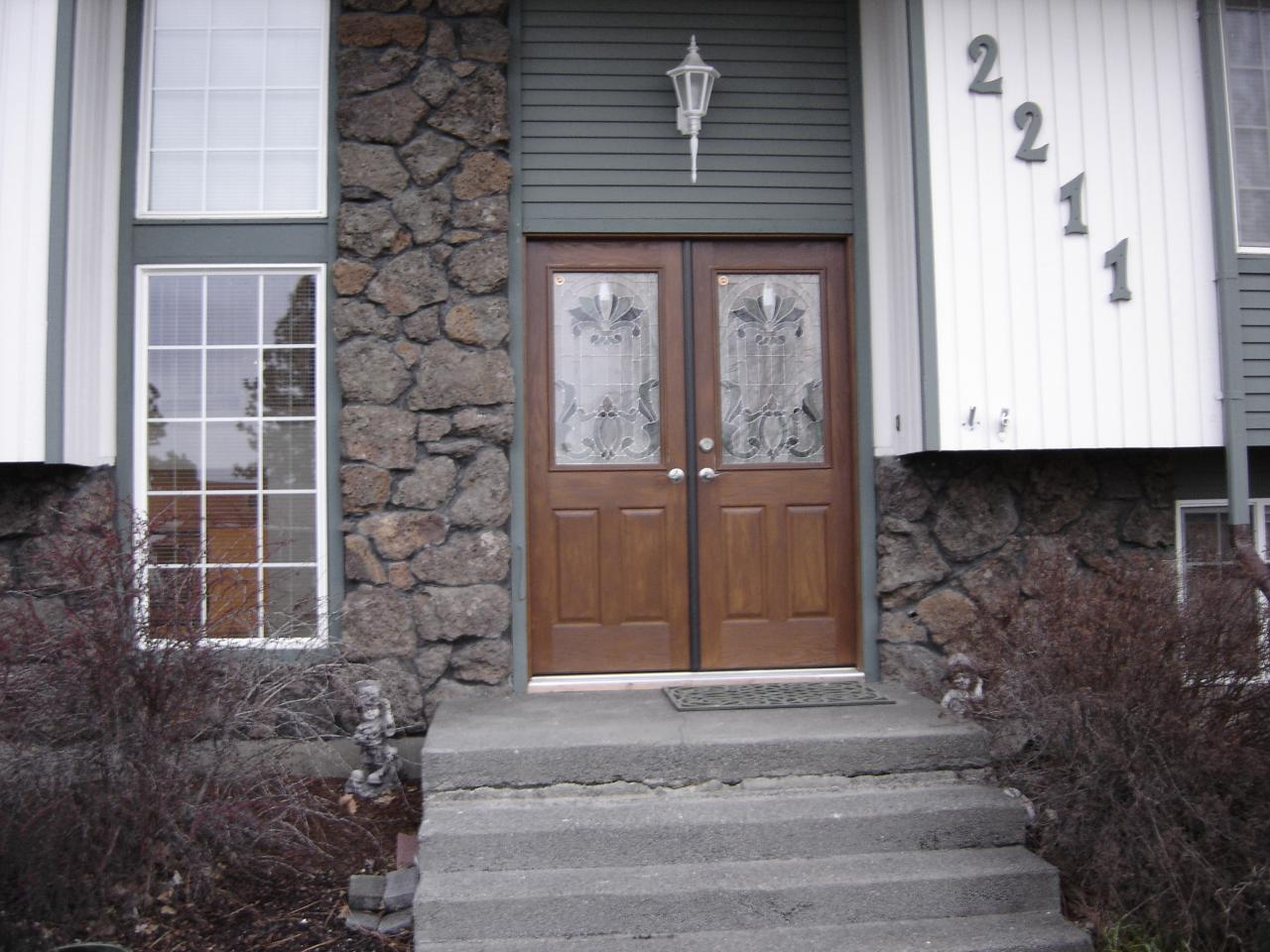 960 #77594B 1st Impressions More Than Doors Double Door Entry wallpaper Masonite Fiberglass Exterior Doors 43651280